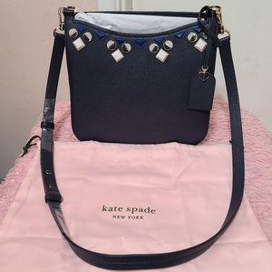 Kate Spade Large Margaux Jeweled Crossbody